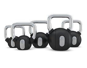 Technogym - Free Weight - Kettlebells 3D