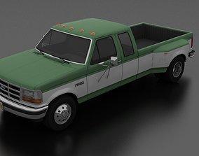 F-350 Pickup 1992 SuperCab DRW 3D model