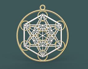 3D printable model Pendant sacred geometry lot - kress002