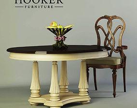 3D model Table chair Hooker furniture