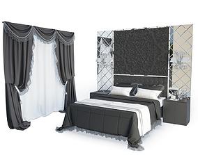 holder 3D model Classic Bedroom