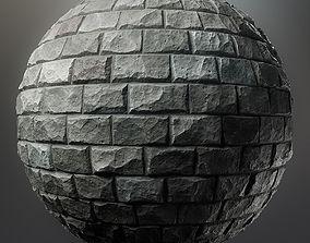 Rough stone blocks 3D asset