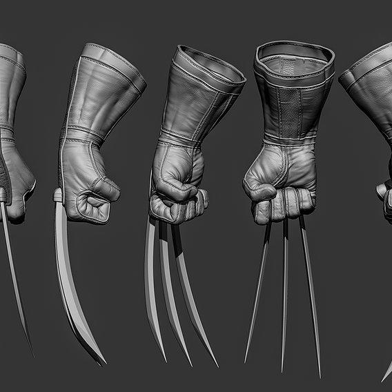 Wolverine glove
