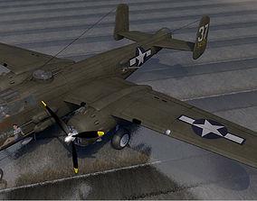 North American B-25H Mitchell 3D