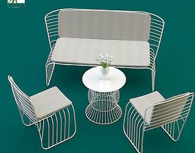 3D Garden furniture braid