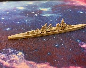 3D printable model Italian Miniature WWII Warship
