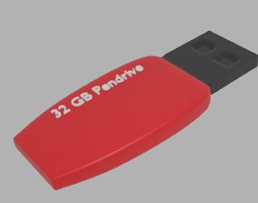 Blender Pendrive 3D