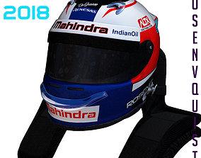 3D asset Rosenqvist helmet 2017 2018