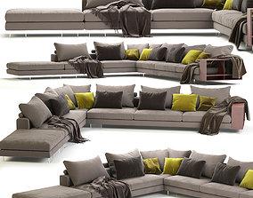 Flexform Lightpiece Modular Sofa 3D model