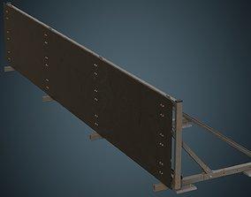 Traffic Barrier 5B 3D asset