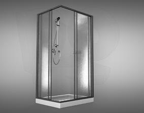 Shower toilet 3D model