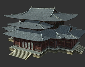 Two Ancient Chinese Architectures with Internal 3D model