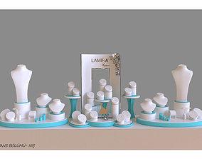 lamira jewelry display wedding concept 3D printable model