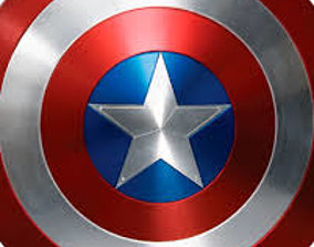 captainamerica 3D print model captain america shield