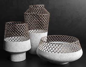Vases Set 5 3D model