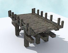 Old Bridge 3D asset
