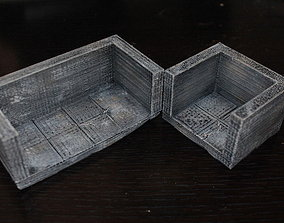 3D printable model OpenForge Smooth Edge Dead End Tiles