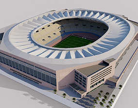 Estadio de La Cartuja - Sevilla Spain 3D