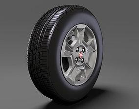 Fiat Qubo Trekking wheel 2017 3D