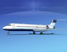3D model Boeing 717-200 Corporate 2