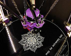 A mandala 3D printable model
