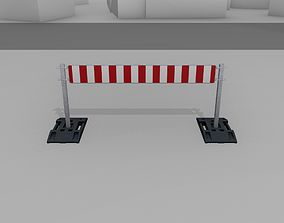 3D model Construction Barrier Version 3 600-35 250x2000mm