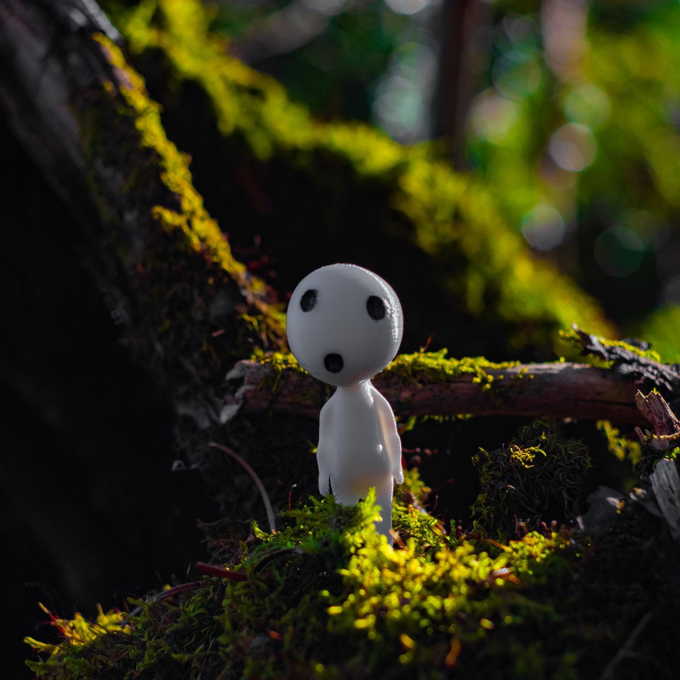 Kodama Forest Spirits
