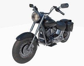 Harley Davidson 1990 Fatboy 3D
