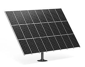energy Large Solar Panel 3D Model