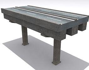 Road And Highway Set 3D asset