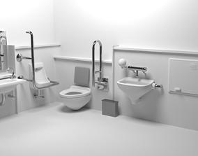 Bathroom 3D basin