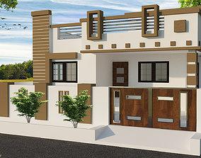 building family 3D model House