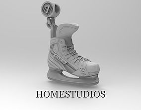 PENDANT hockey skate sport 3D print model