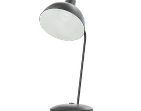 Black Desk Lamp 3D Model furniture