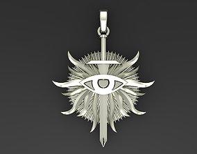 3D printable model Pendant necklace Dragon Age