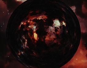 3D model Nebula Space Environment HDRI Map 005