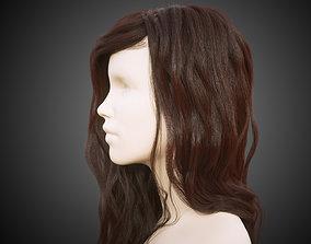 3D Long hair for production render in Octane