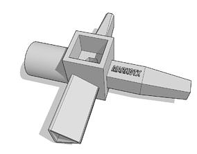 3D printable model firefighter key cle multifonction
