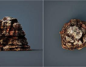 Alien Cliff 3D model