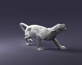 cheetah statue 1121 3d print ready