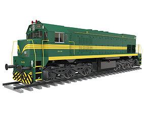 Diesel Electric Locomotive 664-036 3D