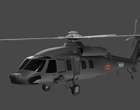 army Harbin Z-20 - The Chinese Black Hawk 3D model