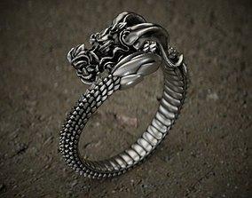 3D printable model Dragon-ring