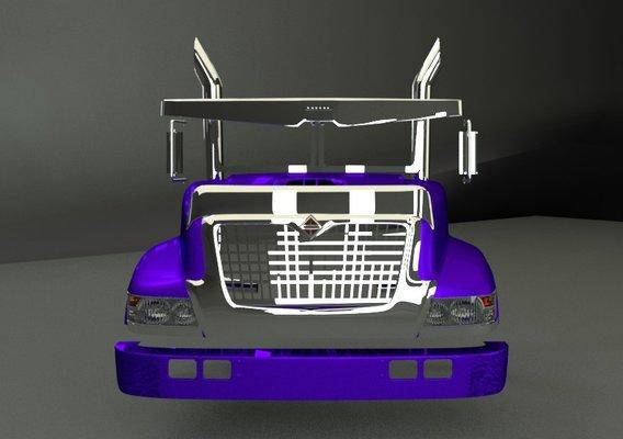 Bonnet International 3d model