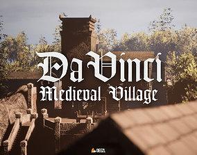 3D model Da Vinci - Medieval Village - Unreal Engine UE4