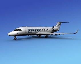 Canadair CRJ100 Orion Air 3D model