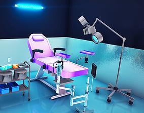 3D model Realistic Medical Clinic