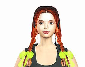 Monique 3D asset