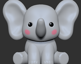 fun Elephant 3D print model