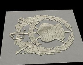 3D printable model Shield Vis Unita Fortior Estado Mayor